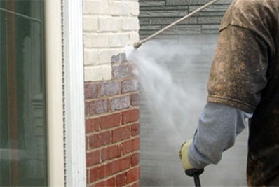 Brickwork Paint Removal